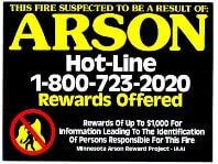 Arson Hotline
