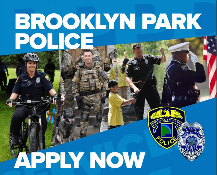 Brooklyn Park Police Apply Now