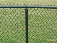 Fence Type Allowed chain link