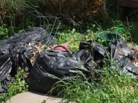 Yard Waste Not Allowed