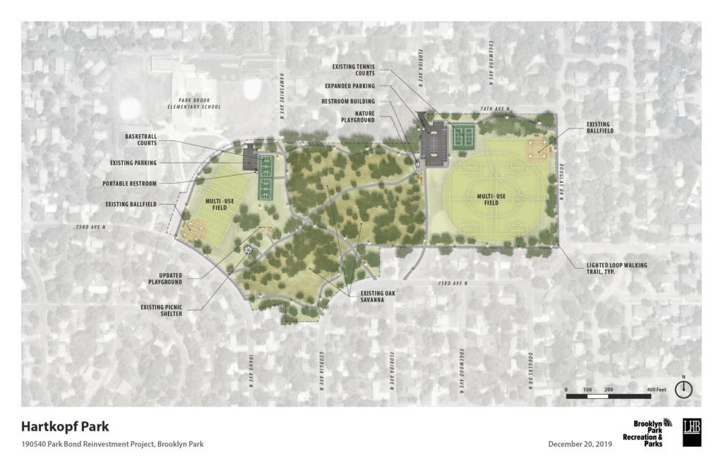 Hartkopf Park concept plan map