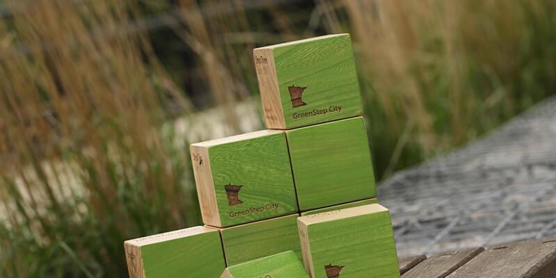 Greenstep award blocks