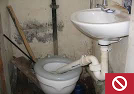 This plumbing setup does not work properly